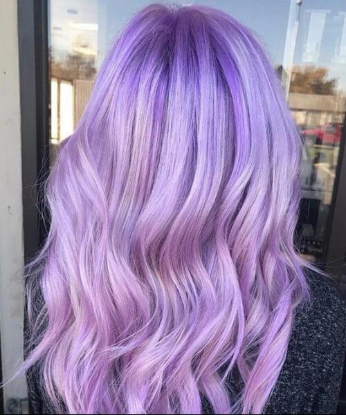 light amethyst plum hair color