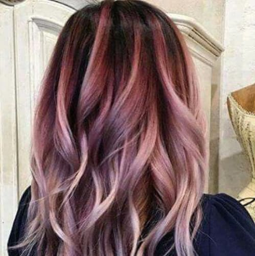 light grape and cream plum hair color