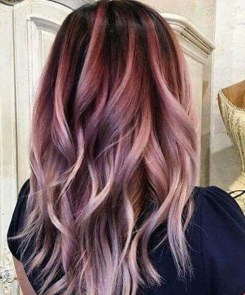 light grape and cream plum hair color