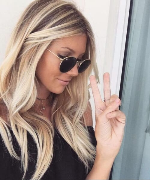 45 Bombshell Blonde Balayage Ideas My New Hairstyles