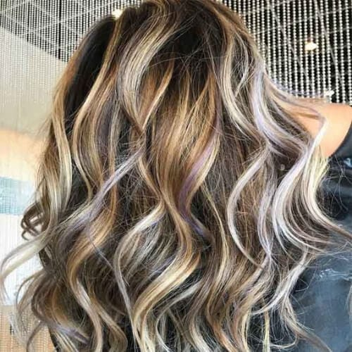 55 Fashionable Ideas For Brown Hair With Blonde Highlights