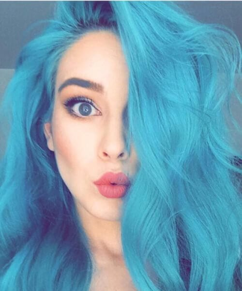 refreshing teal hair color ideas