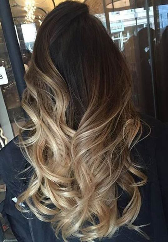 50 fashionable ideas for brown hair with blonde highlights my sandy blonde ombre brown hair with blonde highlights pmusecretfo Images