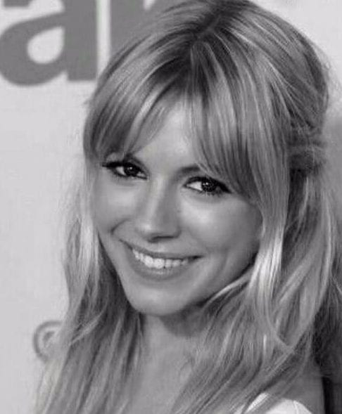 sienna miller hairstyles with bangs