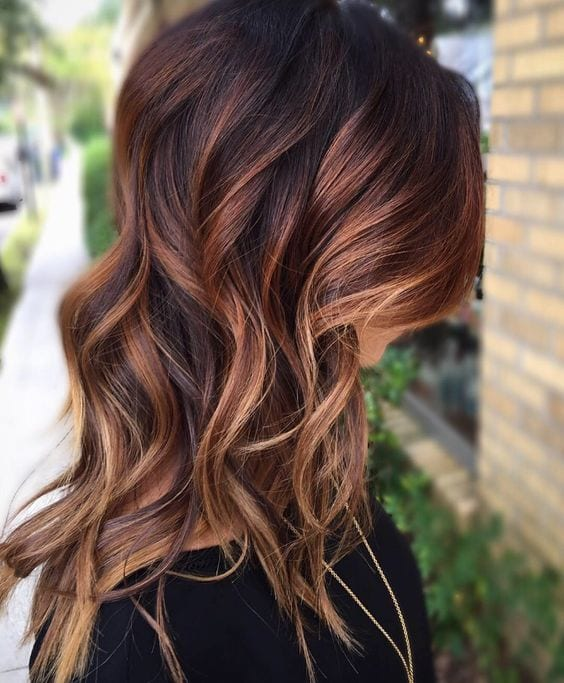 50 fashionable ideas for brown hair with blonde highlights my warm rich autumn brown hair with blonde highlights pmusecretfo Images