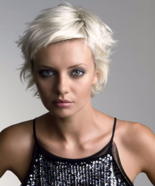 icecberg spiky short hairstyles for thick hair