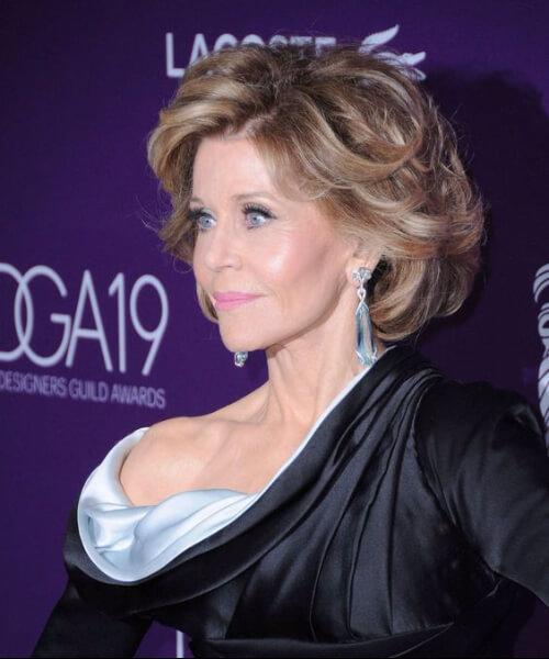 jane fonda hairstyles for women over 60