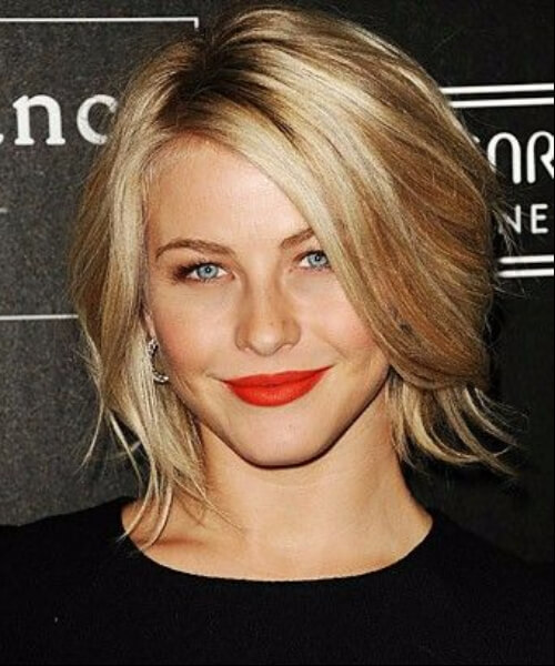 julianne hough short hairstyles for thick hair