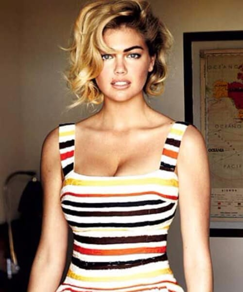 kate upton asymmetrical bob