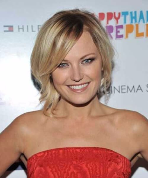 malin akerman asymmetrical bob