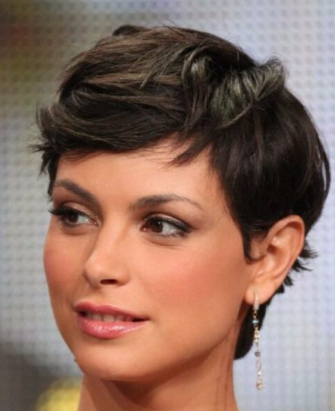 morena boccarin short hairstyles for thick hair