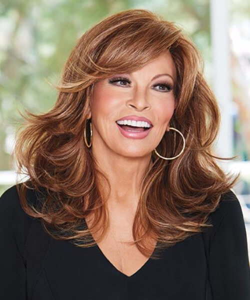 raquel welch hairstyles for women over 60