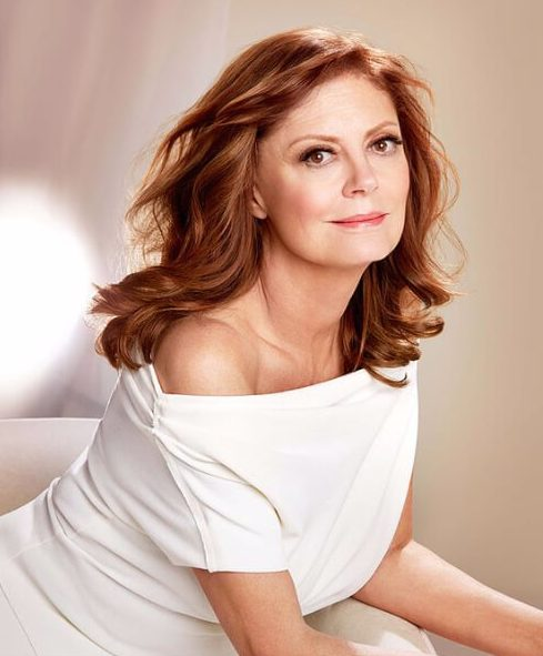 susan sarandon hairstyles for women over 60