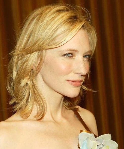Cate Blanchett layered bob