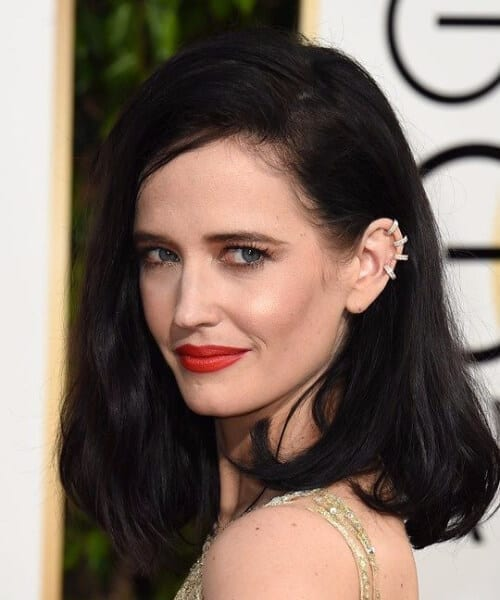 eva green long bob haircuts