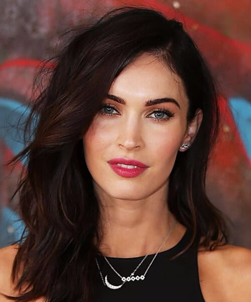 megan fox long bob haircuts