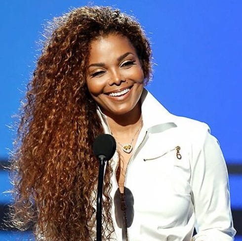 janet jackson long curly hairstyles