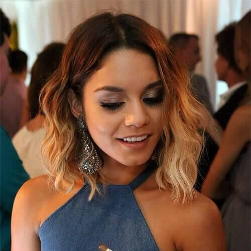ombre prom hairstyles for short hair