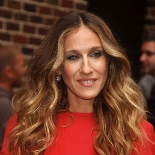 sjp honey brown hair