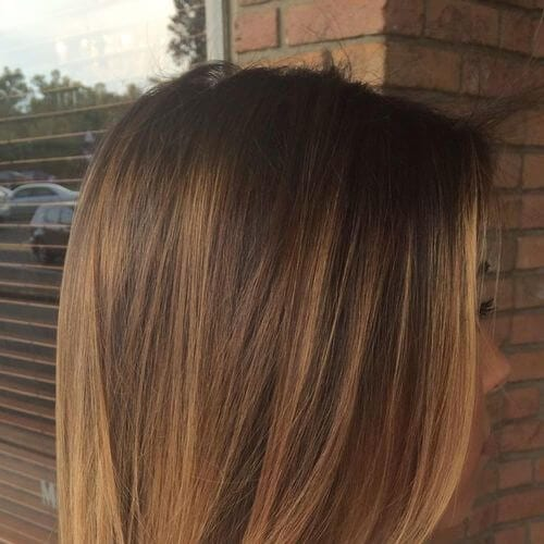 recta de miel marrón hairv