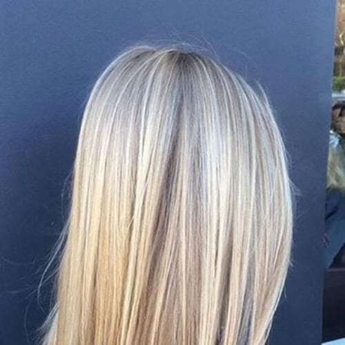 butter blonde high highlights and lowlights
