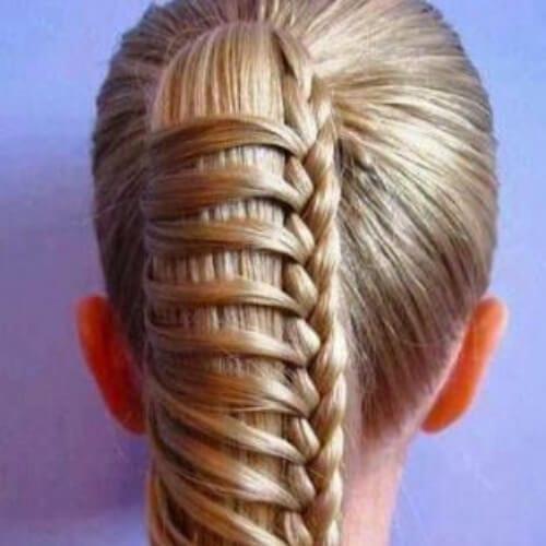 creative braid hairstyles for long hair