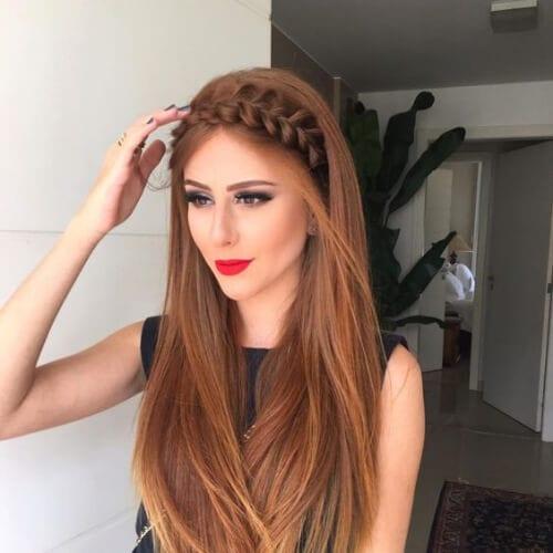crown braid hairstyles for long hair