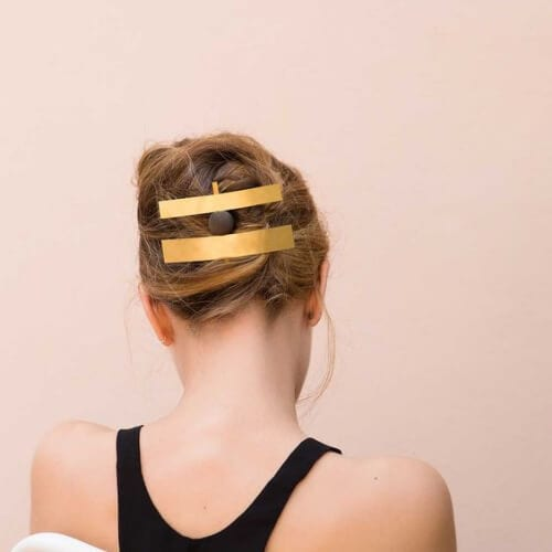 gold jewelry cool hairstyles for girls