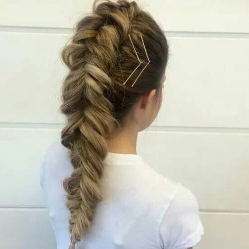 pins braid hairstyles for long hair
