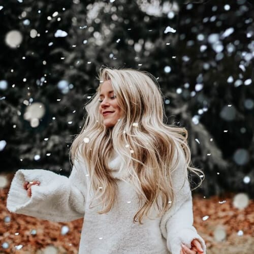 winter blonde hairstyles