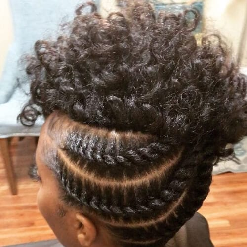 50 Ingenious Flat Twist Hairstyles My New Hairstyles
