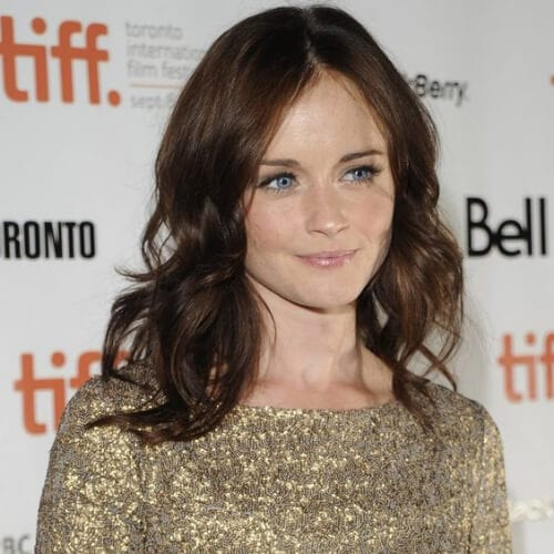 alexis bledel chestnut hair color