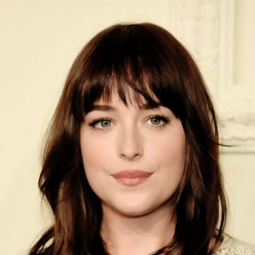 dakota johnson chestnut hair color