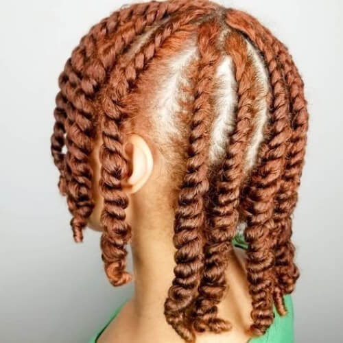 ginger flat twist