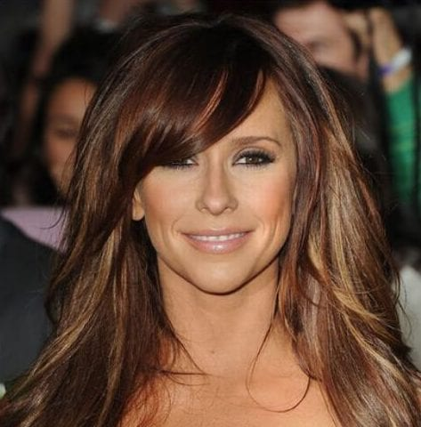 jennifer love hewitt chestnut hair color