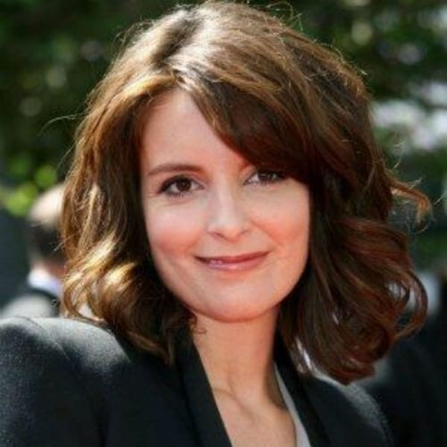 tina fey chestnut hair color