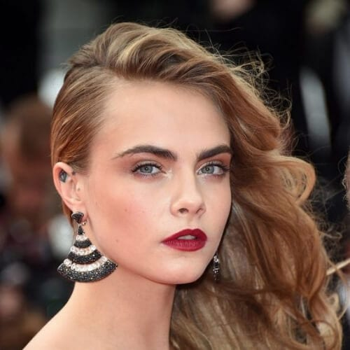 cara side hairstyles for prom