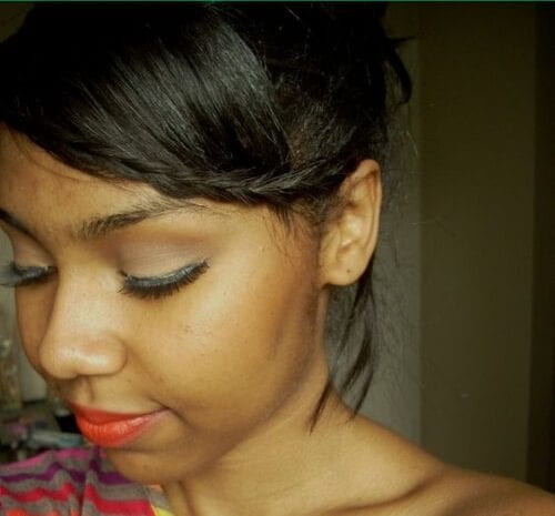 minimal braided bang hairstyles