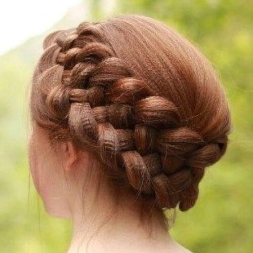braid crimped hairstyles