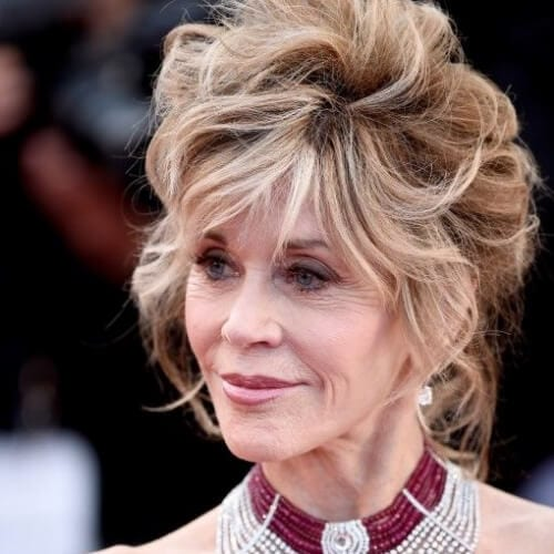 jane fonda hairstyles at cannes
