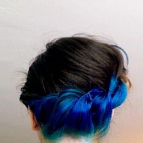 twist two tone hairstyles