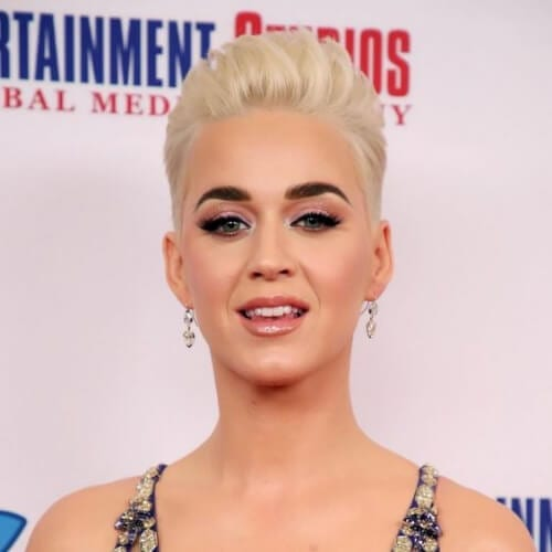 high and tight katy perry hairstyles