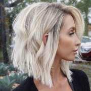 beautiful line bob haircut