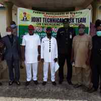 Imo State Inaugurates Covid-19 Task Team on Emergency Response to Petrol, Food Products Movement