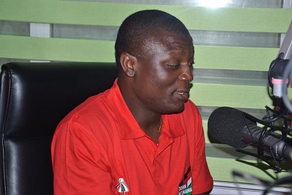 Kofi Adams was drinking beer on Election Day-A Plus