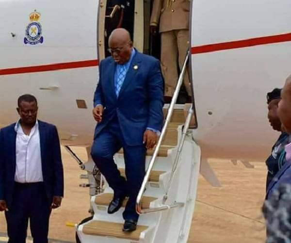 President Returns Home from AU Summit