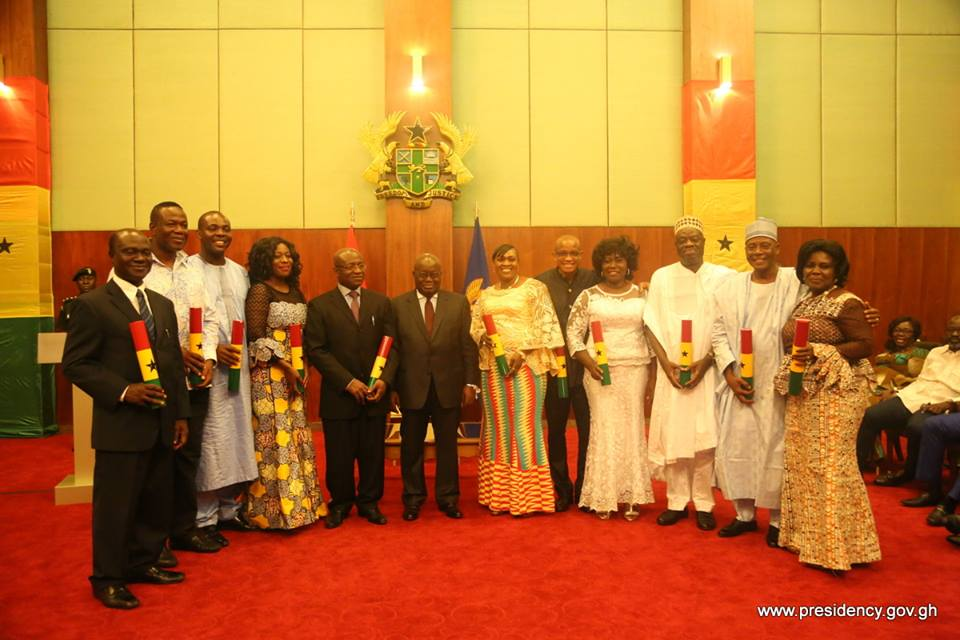 VIDEO:Swearing in of 11 New Ministers