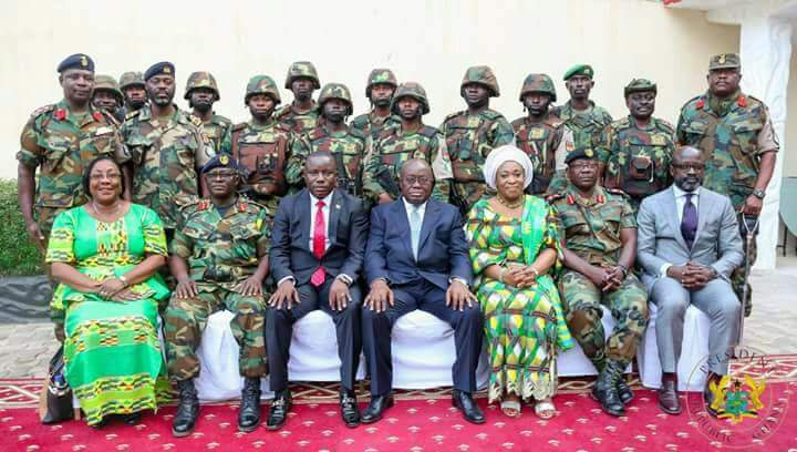 160 Ghanaian soldiers in Gambia return home today