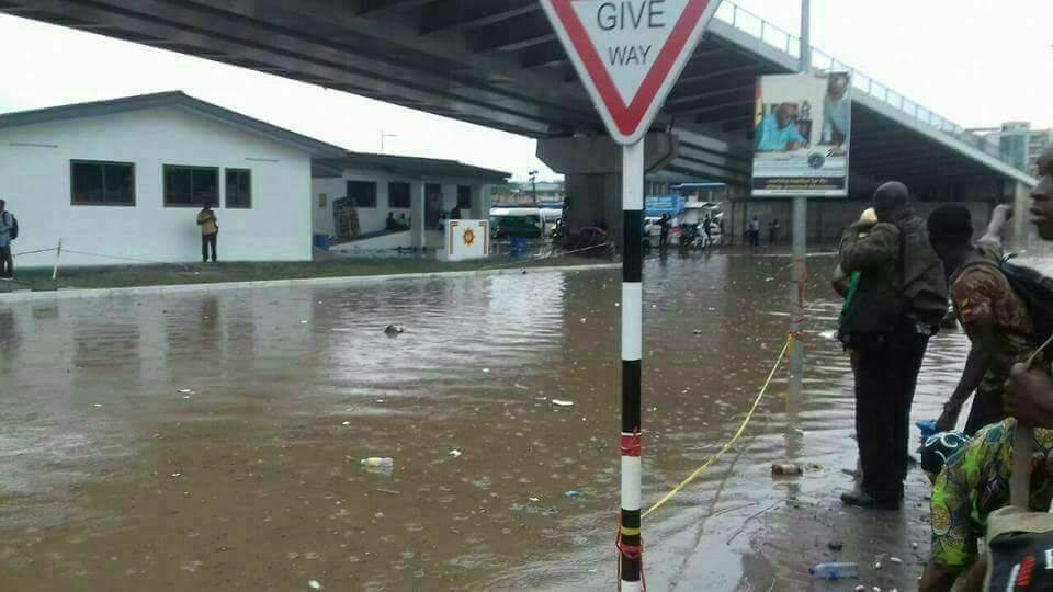 PHOTOS:Newly Constructed Circle Interchange Flooded