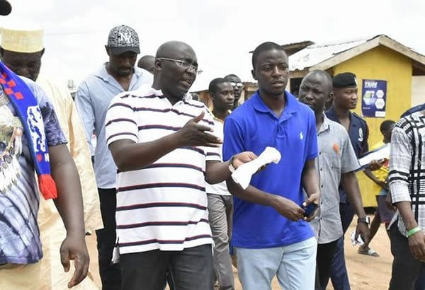 Dr Bawumia's tribute to his departed Aide, Kwabena Boadu
